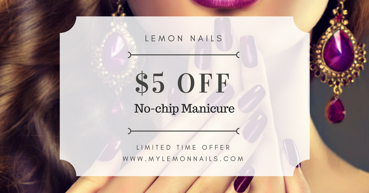 $5 Off No-Chip Manicure